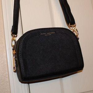 ✖️MARC JACOBS✖️Black Leather Crossbody Bag Purse